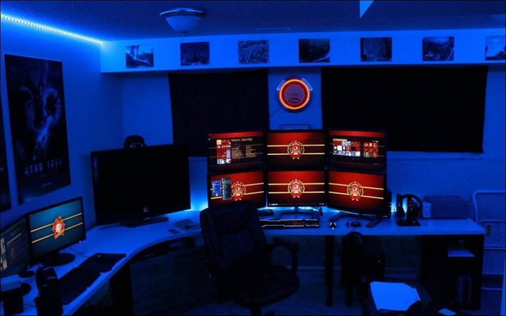 Amazing gaming room set up (14)