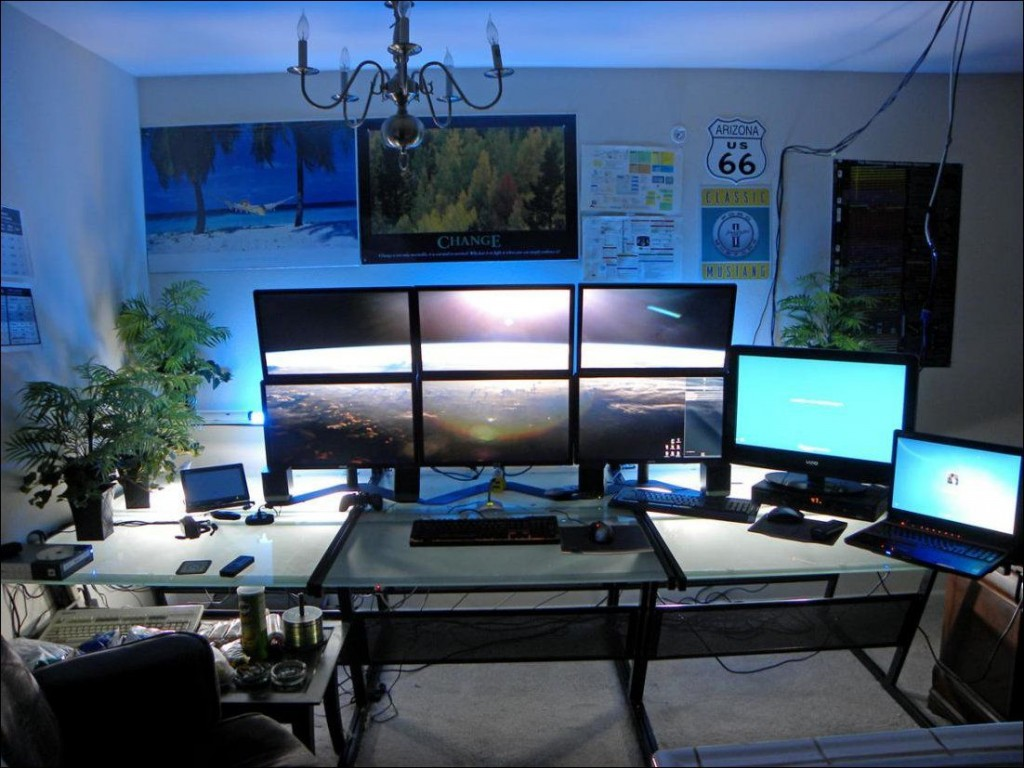 Amazing gaming room set up (16)