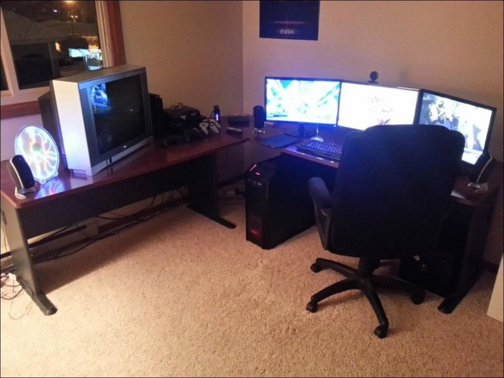 Amazing gaming room set up (7)