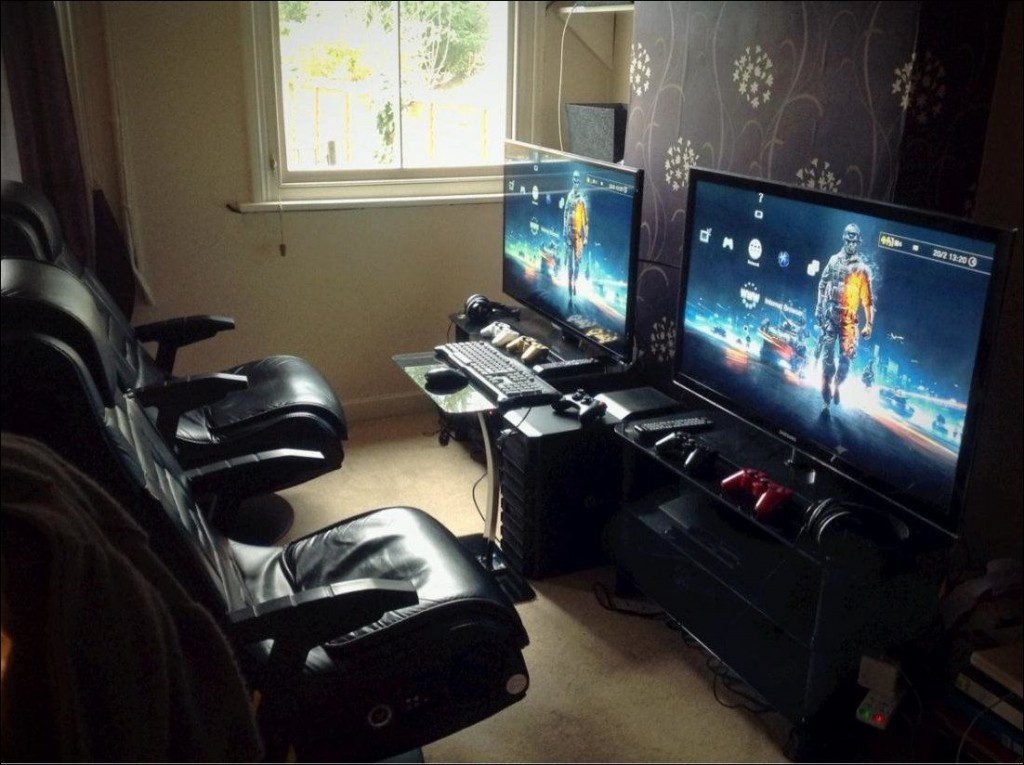 Amazing gaming room set up (9)