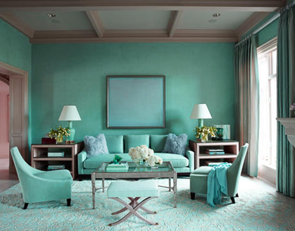 Cheerful paint colours for your walls Blue home decor