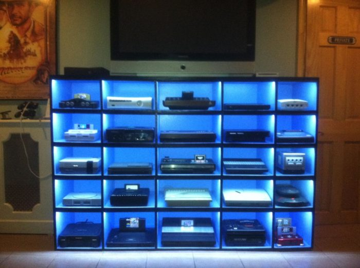 Gaming console collection showcase