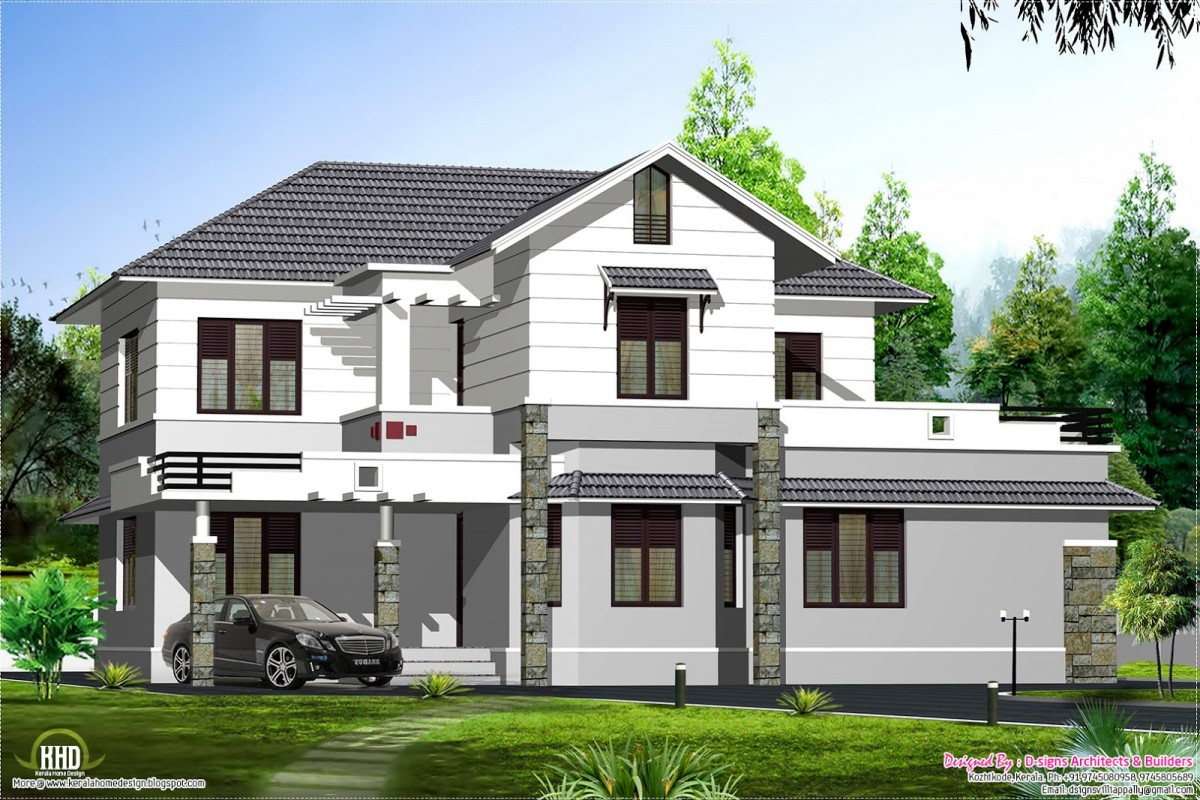 Roofing options for house in kerala joy studio design for Different styles of houses