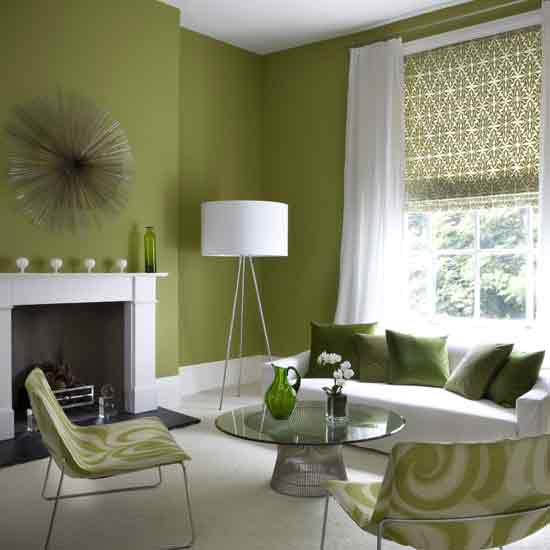 Cheerful Paint Colours For Your Walls