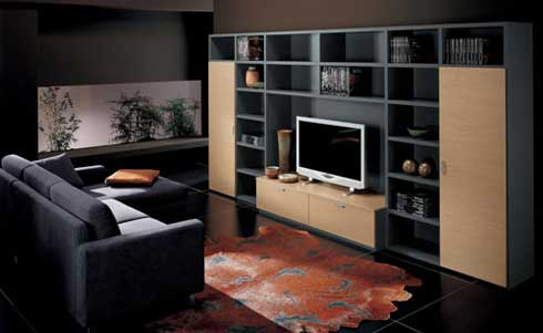 Home Entertainment System Storage Unit