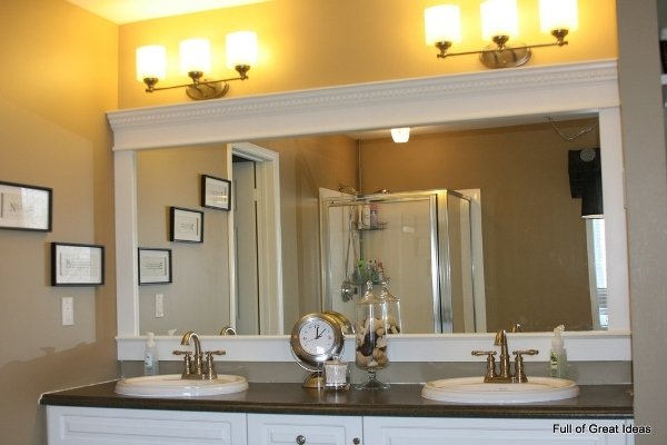 design cozy white bathroom your inside vanity elegant indusperformance mirrors mirror home framed