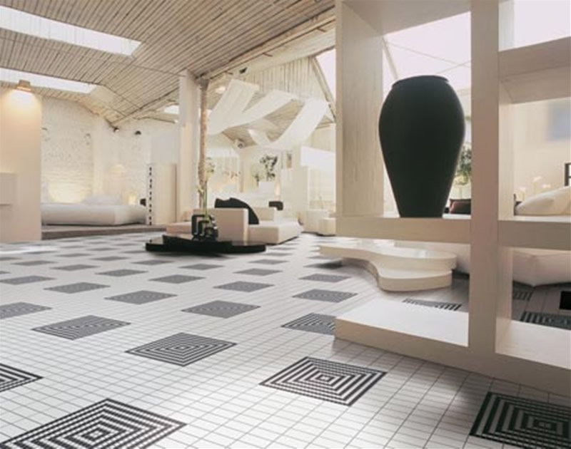 eclectic tile designs - Tile Designs For Living Room Floors