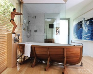 Boating bathroom