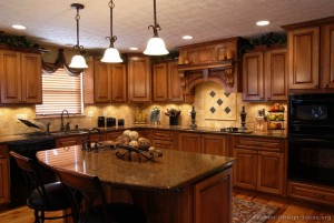kitchen-cabinets-traditional-medium-wood-golden-brown-004a-s8919676-wood-hood-island-luxury