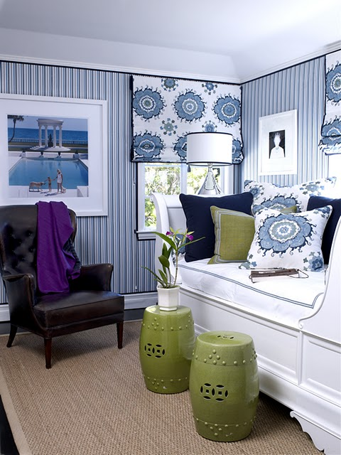 Blue And White Decorating decorating with blues and white inspiring interiors. mary maki rae