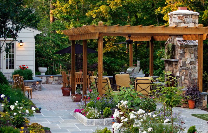 Make A Special Outdoor Space For A Growing Family