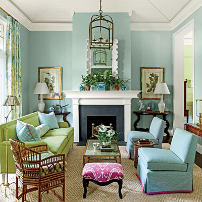 A Lighter Touch Decorating With Pastels