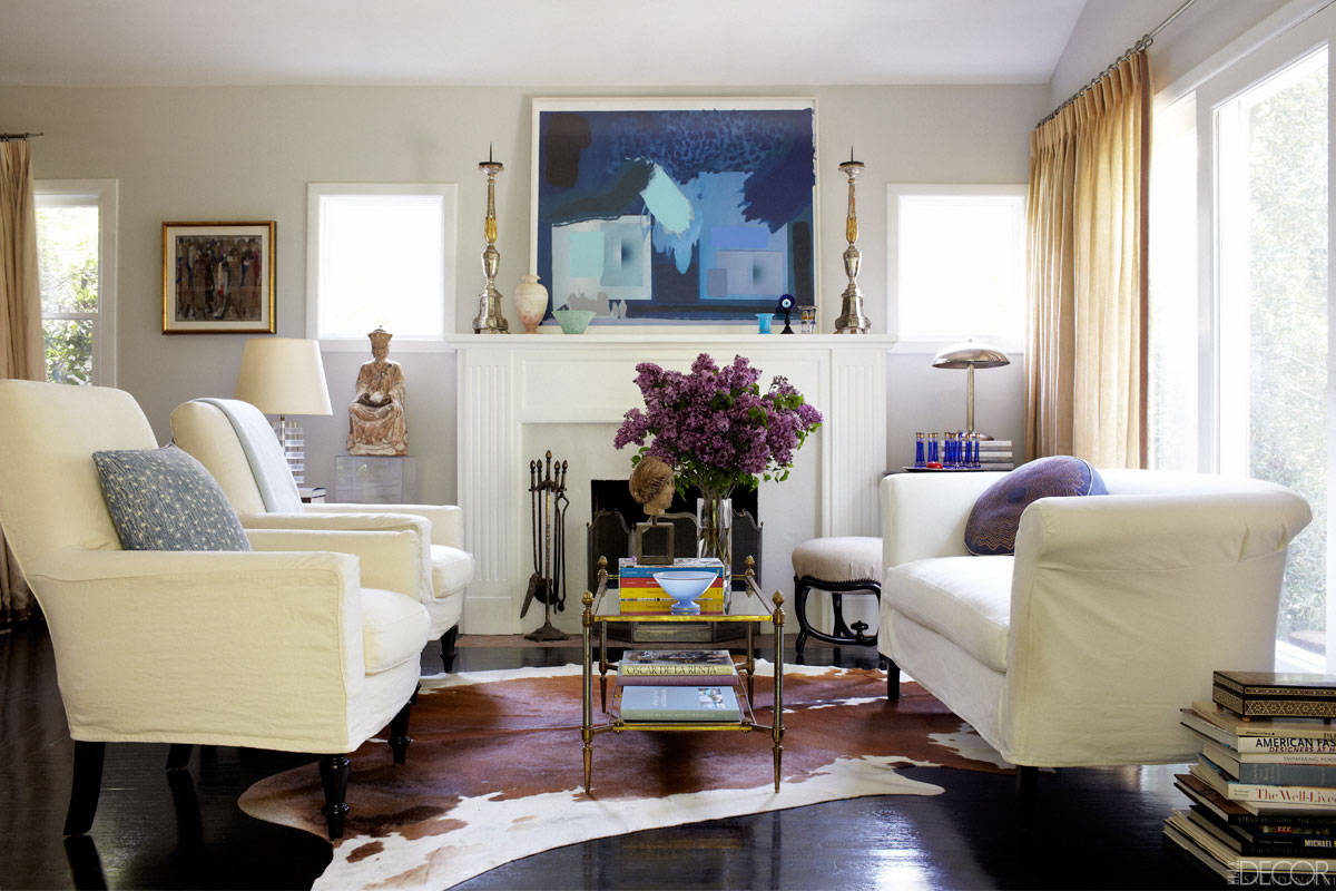 Break the rules for decorating small spaces for Living room space
