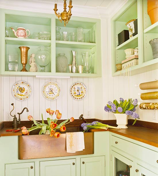 English Cottage Kitchen Designs: Turn On The Charm With Cottage-style Decorating