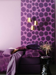 Bold wallpaper brings this space to life