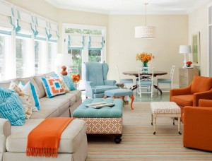 Aqua-turquoise-and-coral-come-together-with-surprising-and-elegant-ease