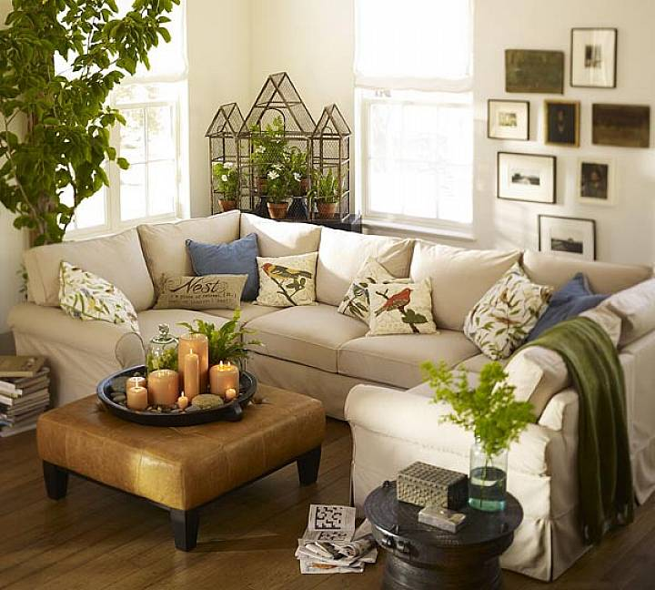 Break the rules for decorating small spaces for Small apartment living room decor