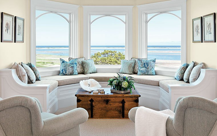 beach inspired decorating ideas - Coastal Interior Design Ideas