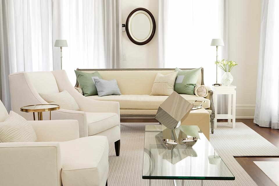 decorating with white - White Living Room Furniture Sets
