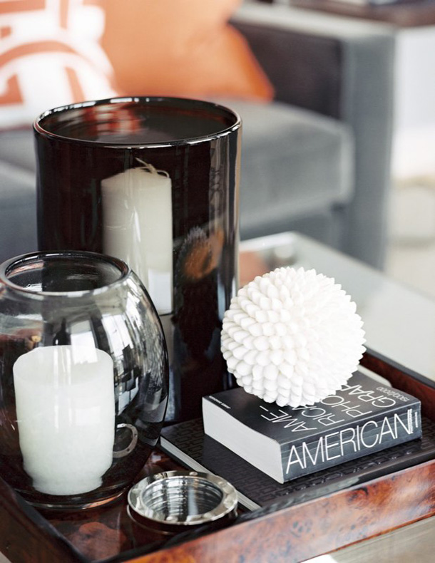 Styling tips for decorating with trays Coffee table decorating ideas