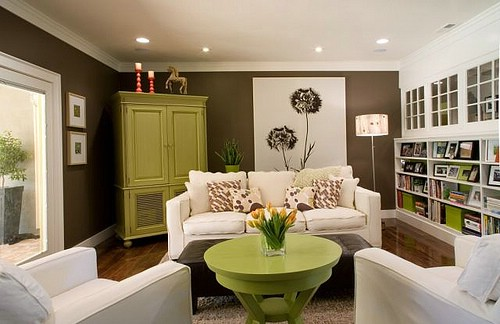 Green Living Room Ideas For Soothing Sophisticated Spaces: Color Combinations For Your Home
