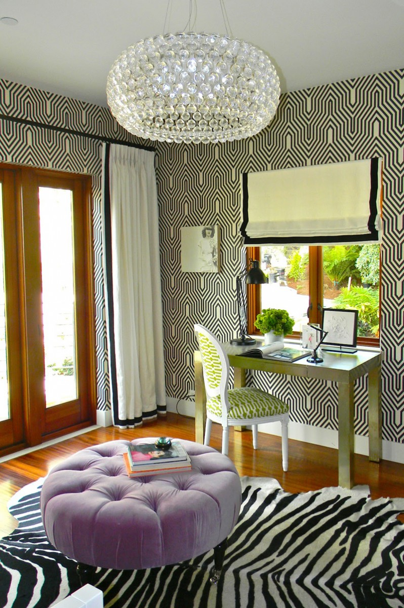 Interior Design Animal Prints Decorating