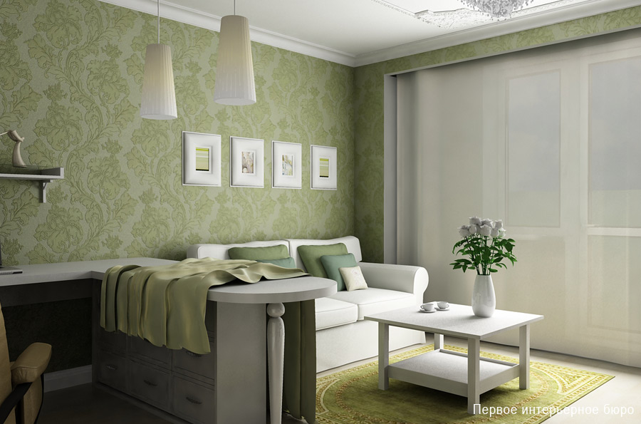 Break the rules for decorating small spaces for Interior decoration wallpaper design