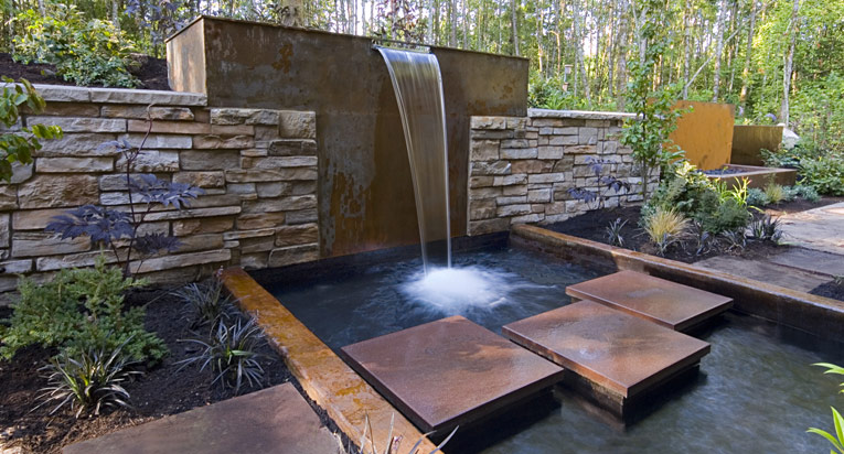 Waterfall Design By Stagetecture.com