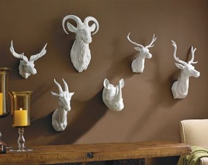 Williams-Sonoma Ceramic Taxidermy