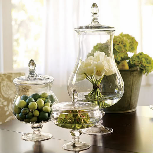 The allure of decorating with glass jars - Things for decoration ...