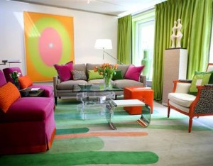 bright-green-curtains-living-room