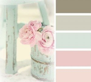 A complementary Shabby Chic Palette