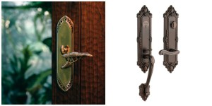 Left, Houzz. Right, knobsandhardware.com
