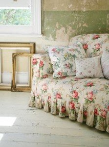 Floral and Chintz are at the heart of a great Shabby Chic home