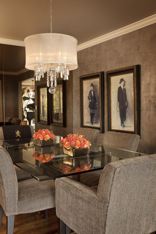 Contemporary Crystal Chandelier For Dining Room Best Dining Room