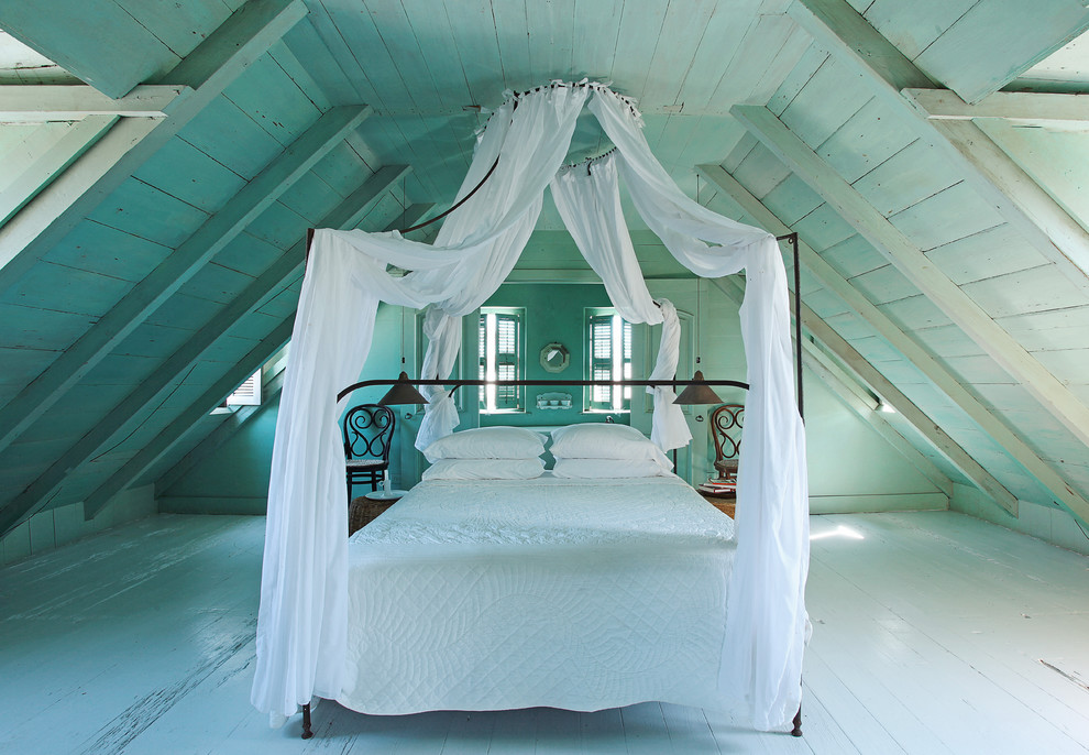 attic ideas pictures - Canopy beds for little magic every day
