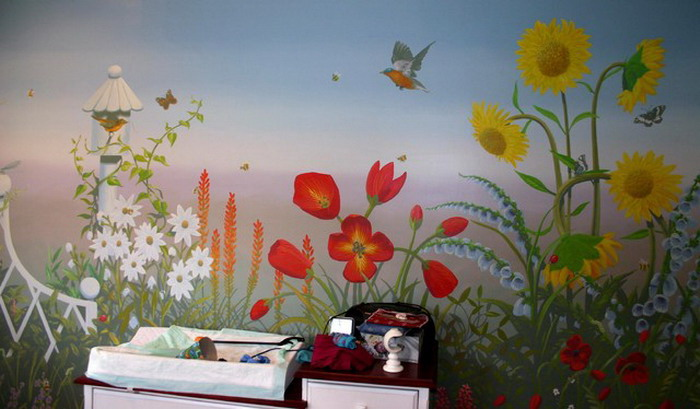 Mural Wallpaper Trends For 2015