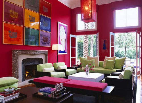 Retro Interior Design 70s retro style for 2015
