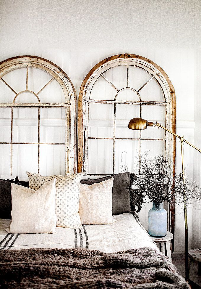 creative alternatives to the headboard