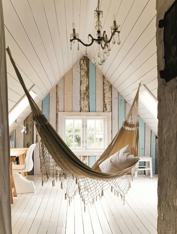 How to use an interior hammock in your bedroom