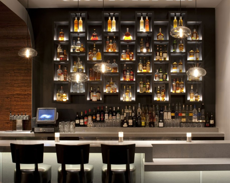 8 home bar ideas that you ll adore part one Restaurant lighting ideas