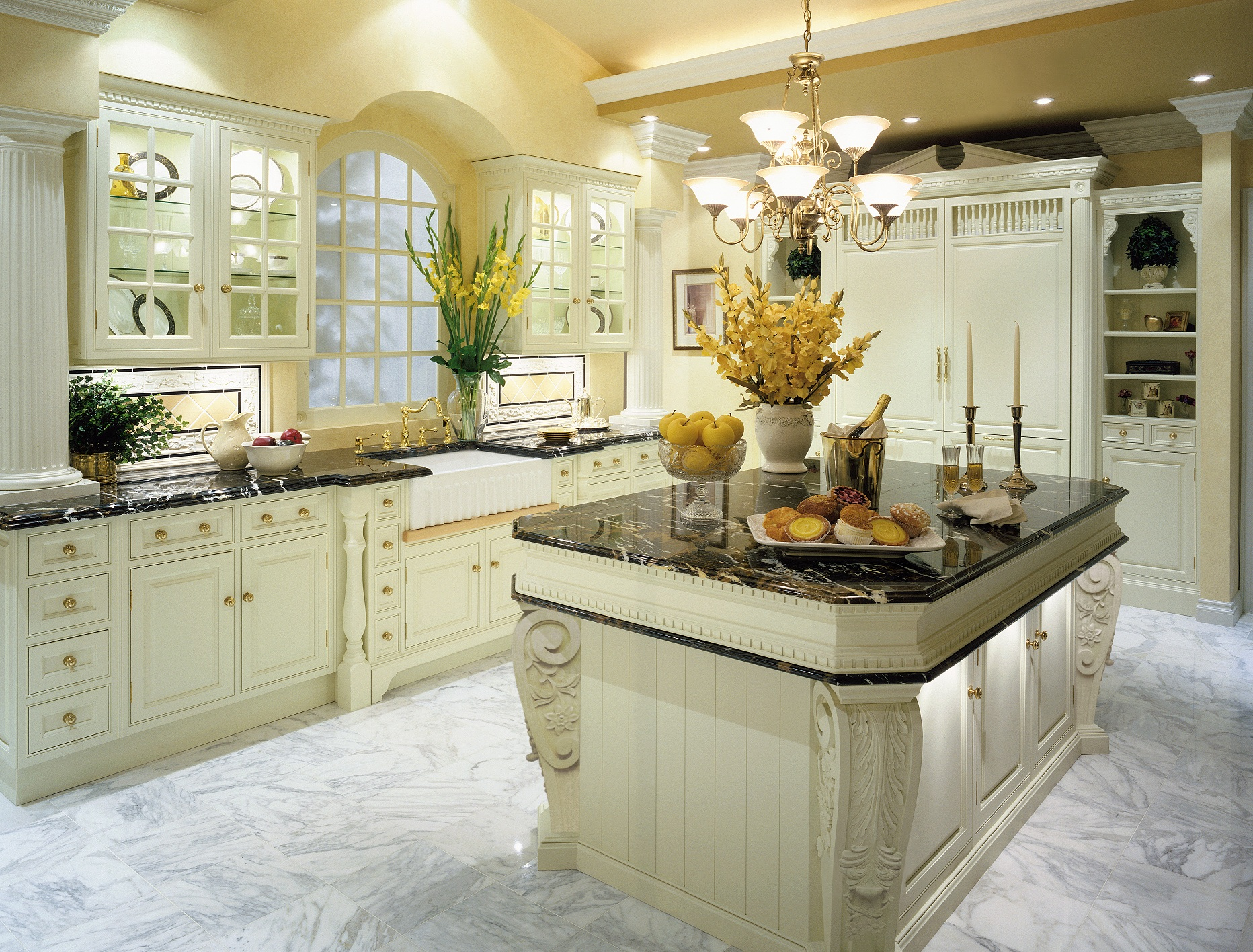 Beautiful Traditional Kitchen Designs The Enduring Style Of The Traditional Kitchen