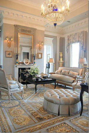 Beautifully design traditional room