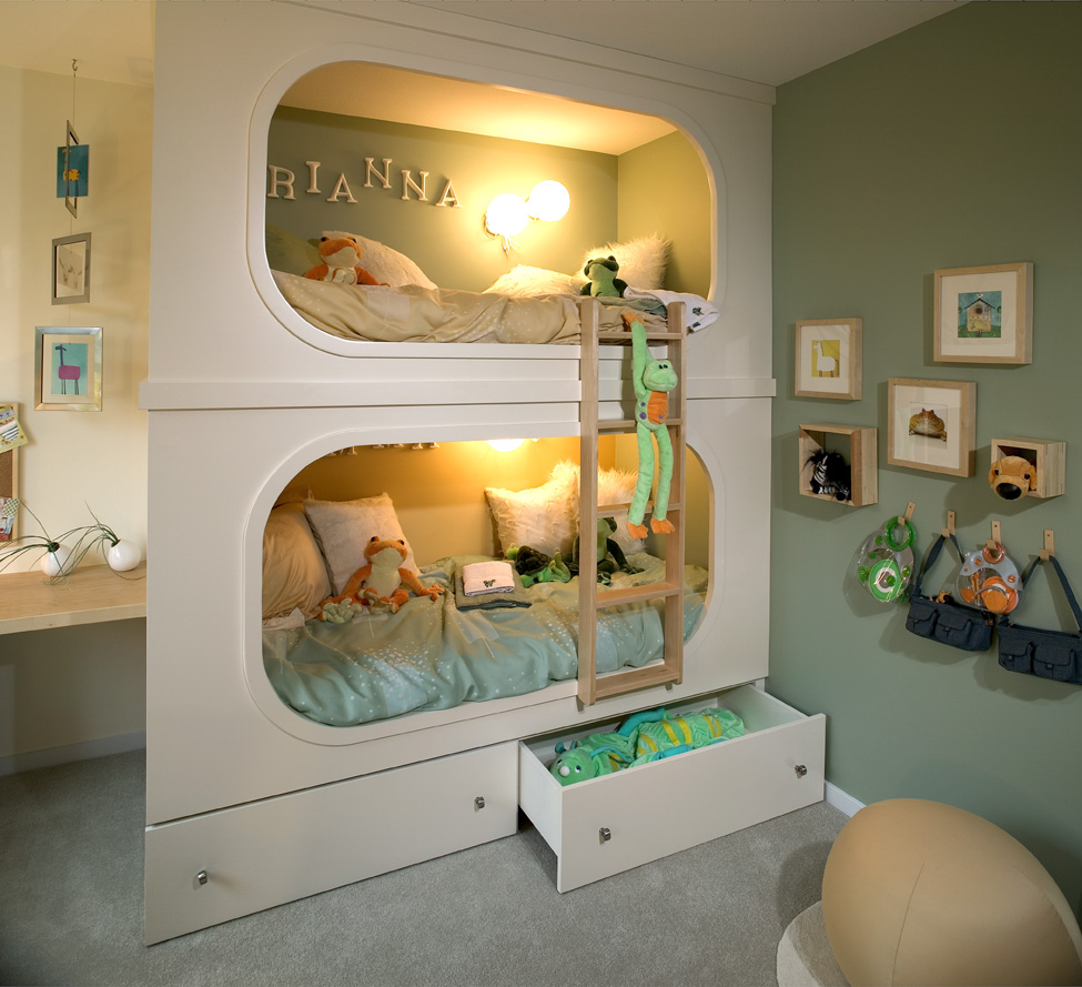 Bunk beds for creative bed time fun for Bunk bed design ideas