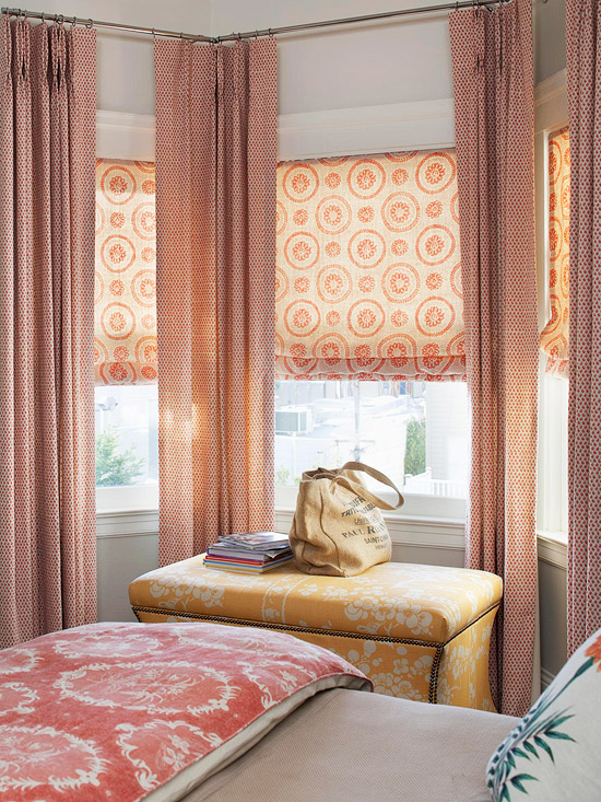 Window Treatments For A Completed Room Design