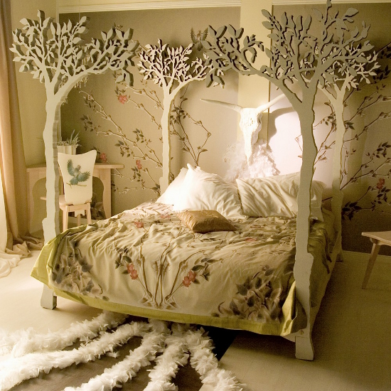 ... A Wonderfully Whimsical Bedroom