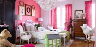 A girls' bedroom