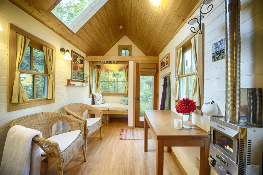 Tiny house living for big rewards Bungalow home interior design