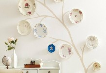 Creative plate wall display