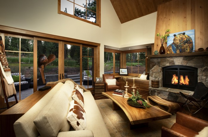 Stunning wood accents run throughout this home